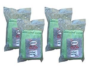40 Commercial Proteam 106960, 106973 (Closed Collar) Super Half Vac HEPA Model Back pack Tank Vacuum Allergy Bag