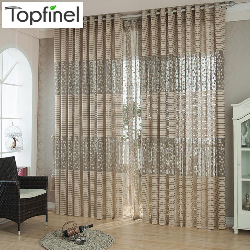 Buy top finel strip modern luxury window - Modern curtain panels for living room ...