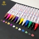 Hot selling high quality 12 different colored healthy pen permanent pens paint marker set