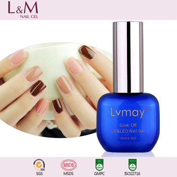 Lvmay 602 Colors Gel Polish Soak Off UV/ LED Uv Gel Gel Nail Polish