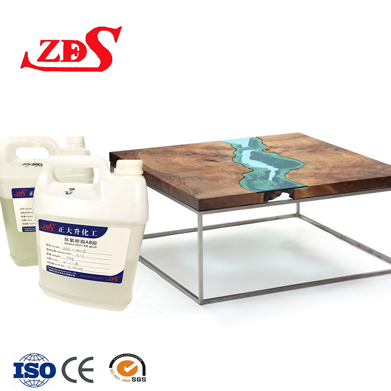epoxy 2 part for river table /heat resistant epoxy <strong>glue</strong>/clear resin casting for resin table river