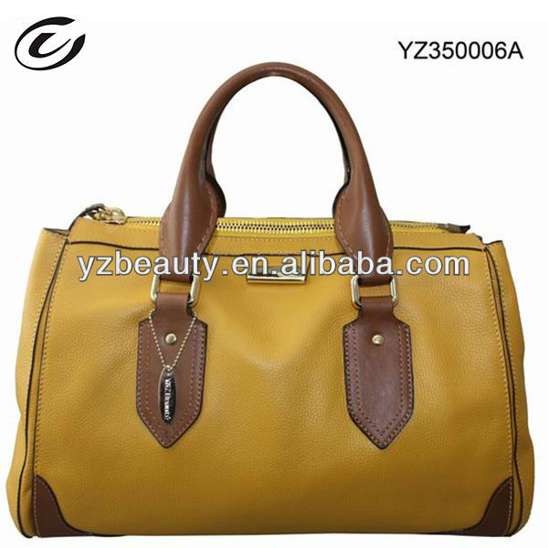 Japan Photocatalyst Technology Fashion Women Cow Leather Bag