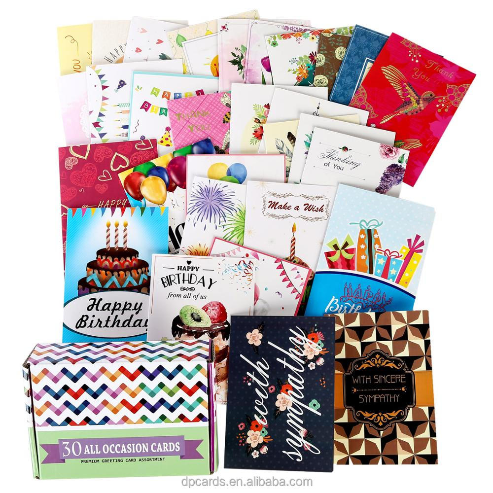 Wholesale Assorted Greeting Cards For All Occasions Buy Assorted