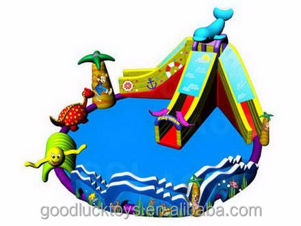 Water Park For commercial use / Inflatable Water Floating Playground For Pool / Water Park Equipment Price