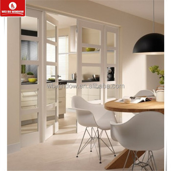 White PVC Double Glazed Casement Room Door