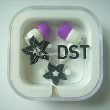 best selling box custom logo earphone parts for wholesale