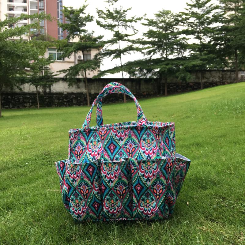 Wholesale Canvas Garden Tool Bag Durable Utility Tote 23cm*20cm*23cm  Dom104609