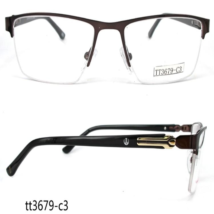 Tt3679 Business Style No Bottom Border Glasses Frames For Men Buy