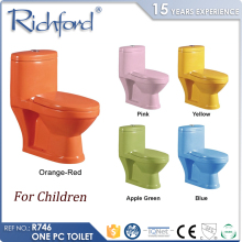 Sanitary Ware sets bathroom elegant design one piece custom small preschool colored toilets for children
