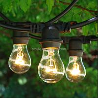 48feet Christmas Led String Light 24pcs E26 S14 Bulb Patio Light ...