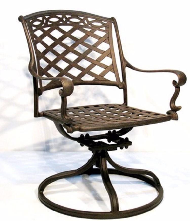 Vintage Esszimmer Metall Garten Guss Stuhl Moderne Metall Restaurant Stühle