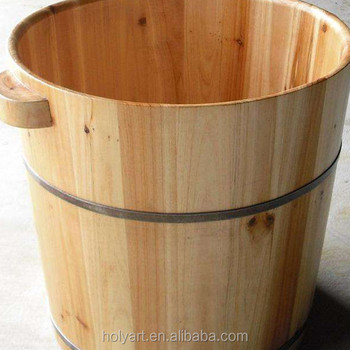 Hot Sale High Quality Custom Made Small Wooden Bathtub