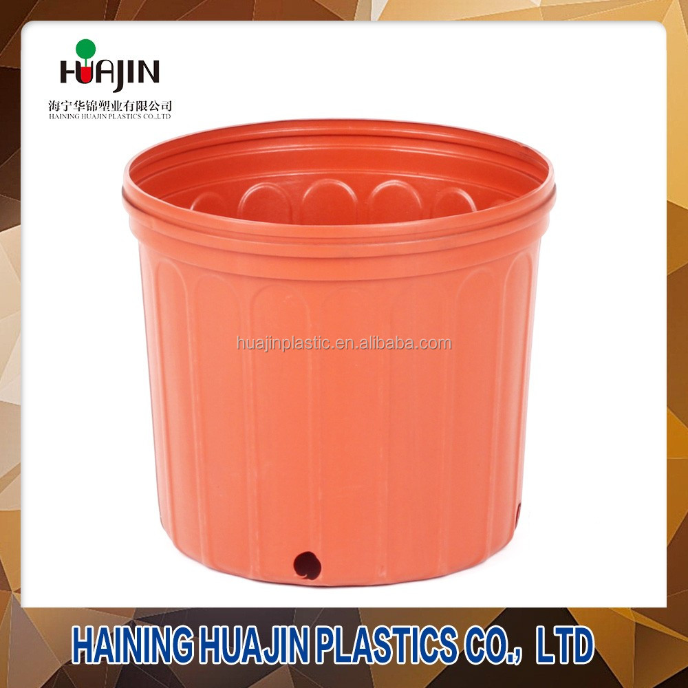 Desktop injection moulding plastic one gallon plant pots for nursery
