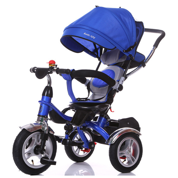 new design children baby tricycle bike/ three wheel steel tricycle for kids/baby carriage tricycle bike for kids