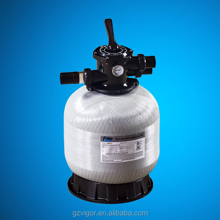 Domestic swimming pools sand filter / spa pools filter