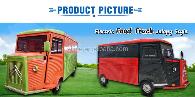 factory supply  hot selling mobile fast food cart electric food truck