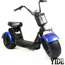 Original supplier 1500W brushless motorcycle electric 60V20 AH e-scooter with basket
