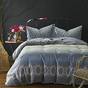 Dida Gray Bedding Teen Bedding Kids Bedding Dorm Bedding Gift Idea, Queen Size