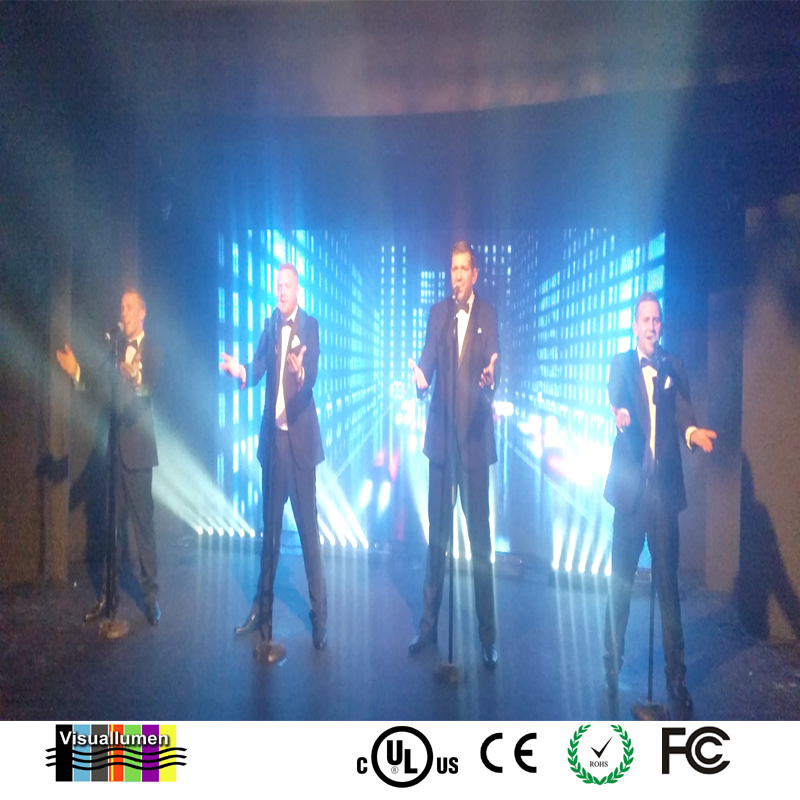 square led display / mobile led display / clear led display shenzhen visuallumen