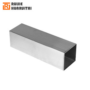 2mm thick Stainless steel rectangular pipe /40mm *20mm square tube SS201/ 304/ 316L stainless steel piping