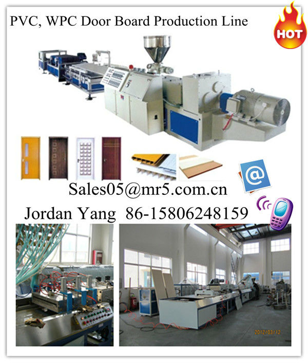 pvc door profile window profile extruder