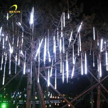 Christmas Tree Decorations Meteor Rain Drop Light - Buy Led Rain ...