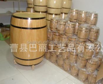 Oak Material Wood Type Sake Storage Boxes, Wooden Wine Barrels, Empty  Whiskey Barrel