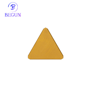 TPKN2204 3/4 triangle Tungsten Carbide Insert P30 grade Coated