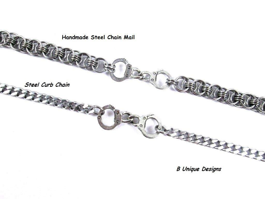 Spinningdaisy High Gloss Finish Handcuffs Anklet Ankle Bracelet