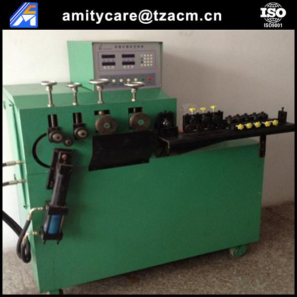 Automatic reinforcing steel wire ring making machine