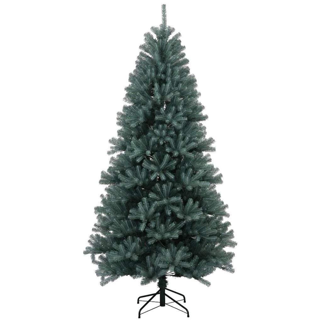 "Vickerman 33965 - 7.5' x 48"" Blue Crystal Pine Tree Christmas Tree (N131775)"