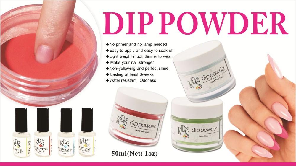 Kds New Healthy Acrylic Nail Polish Dipping Powder - Buy Sns Dipping ...