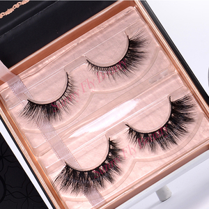 5 pairs high quality OEM brand name natural faux mink fur eyelashes