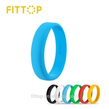 Silicone Wristband iPhone or Android smartphone Bluetooth connection exercise goal reminder