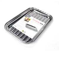 Barbecue tools Stainless Steel Grill Bbq cooking Plate Topper pan