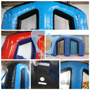 cheap inflatable bunkers paintball for rental