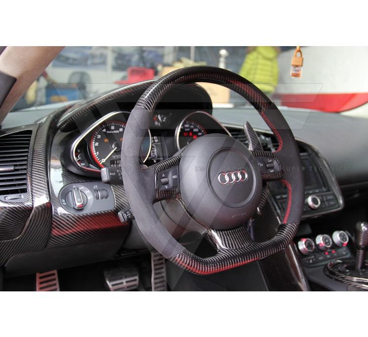 Carbon Fiber Interior Steering Wheel For Audi R8 V8 V10 Buy For V8