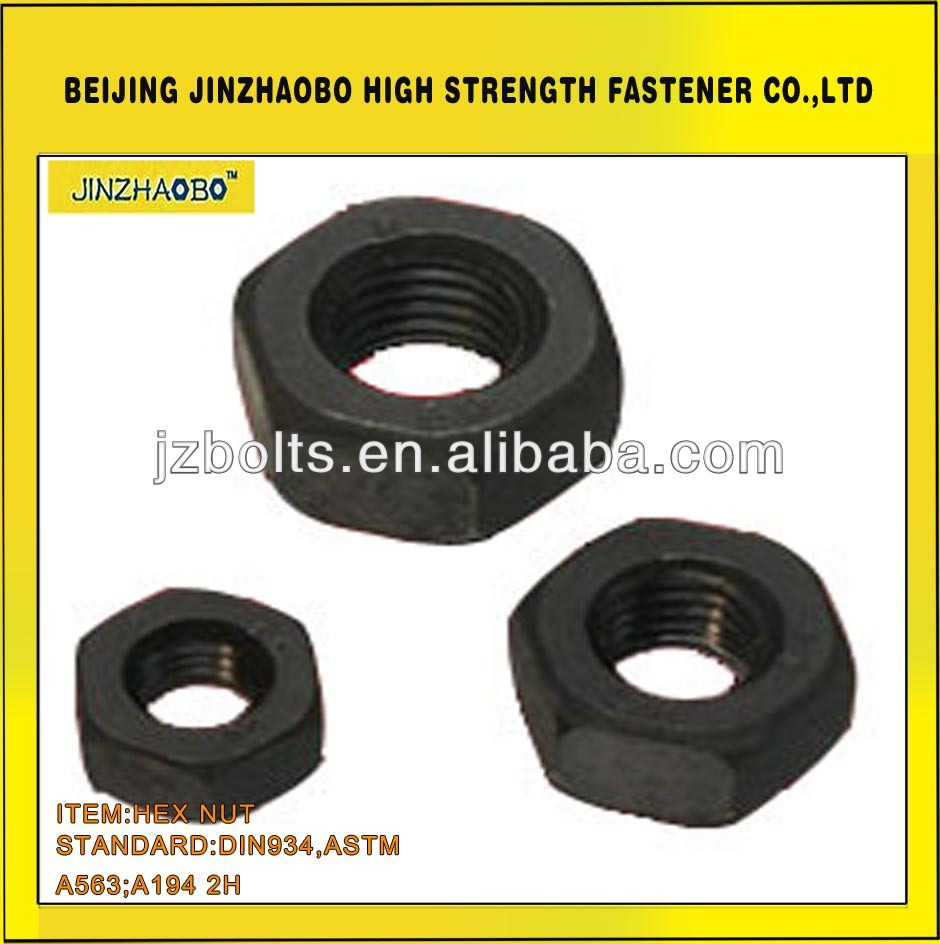 Hex Nut ASTM A194 2H Standard ISO Approved