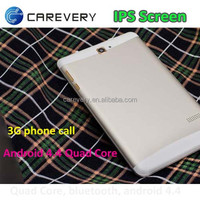 Dual SIM Slot 7 Inch 3G Cell Phone Tablet PC MTK7682 Quad Core Android 4.4 3G WCDMA 4GB ROM Bluetooth GPS WIFI