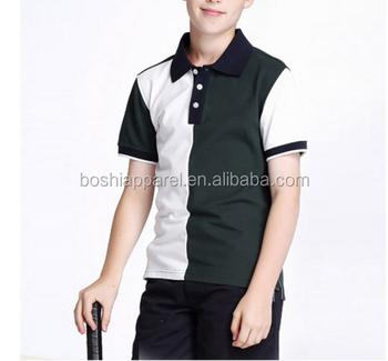 18f0983571 Dos alunos da escola Camisetas de manga curta desgaste do verão camisas  pólo uniforme escolar das