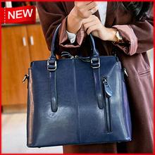 100% Guarantee Genuine Leather Bag High quality Natural Cowhide women messenger bags Vintage shoulder crossbody bag New 2015