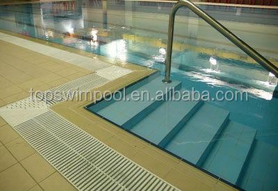Fabricante color blanco piscina cuneta rejilla piscina for Rejilla piscina