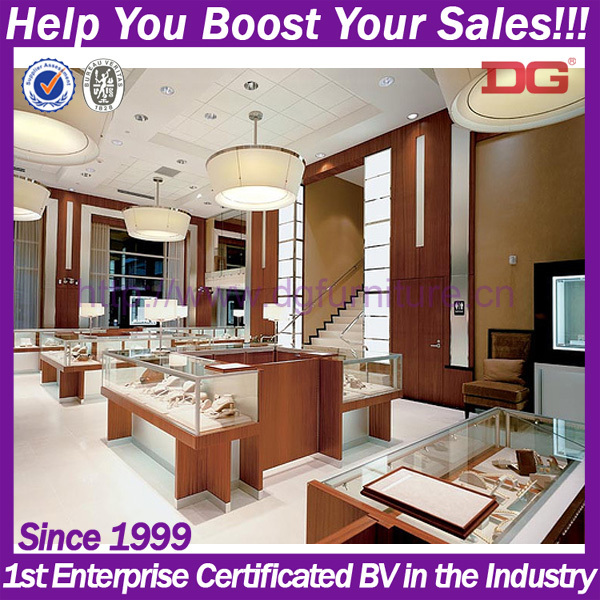 2015 New Jewellery Showroom Interior Design Designs
