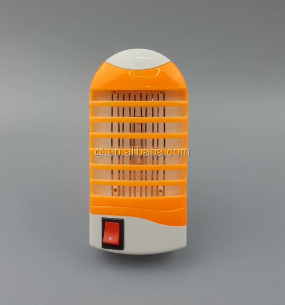 LED Socket Electric Mosquito Fly Bug Insect Trap Killer Zapper Night Lamp Lights 4 LED Light Wide voltage WD04
