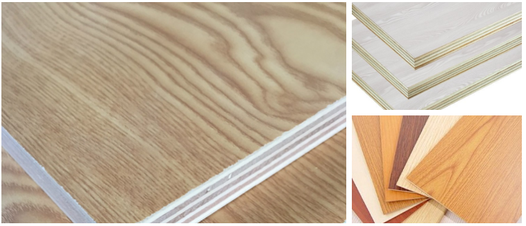 18mm double or both sides melamine plywood sheet