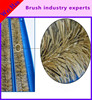 supply excellent double row bristle crumb sweeper brush
