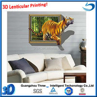 New design 3D picture framed picture for home decoration