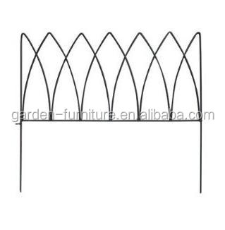 Superior Short Metal Garden Fence Outdoor Lawn Edging Decorative Iron Fence