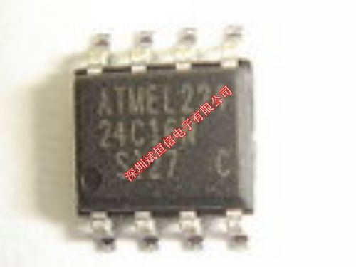 electronics electronics AT24C16N-10SI-2.7 SOP-8 Integrated circuit Integrated circuit