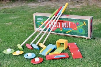 Holz Krocketspiel Indoor Oder Outdoor Kinder Golf Spiel Garten